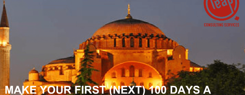 First 100 Days Master Class in Istanbul Turkey 8-10 June 2014